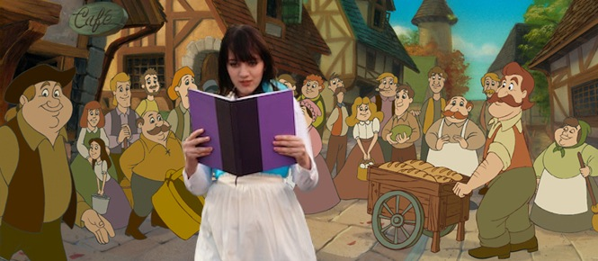Sage as Belle