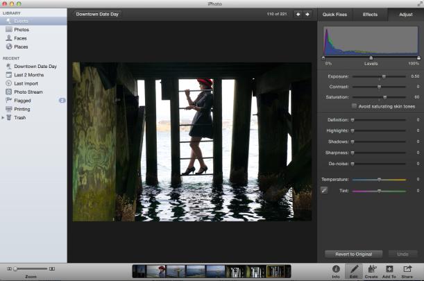 iphoto screen shot