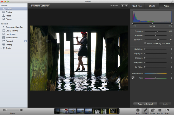 iphoto screen shot