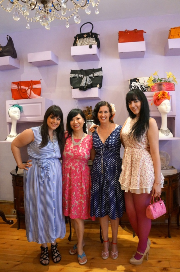Sage, Jane Ip, Antonia and Alanna