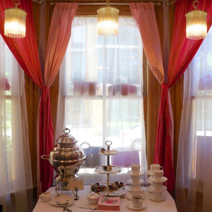 Tea party corner