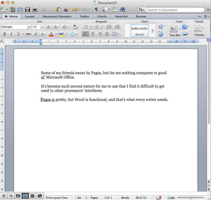 word for mac screenshot