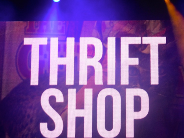 macklemore and ryan lewis thrift shop