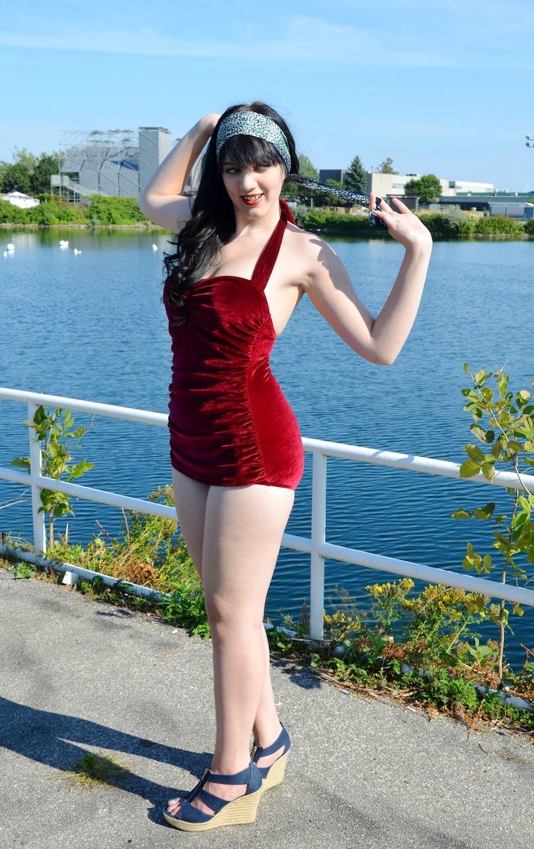 red velvet swimsuit 18