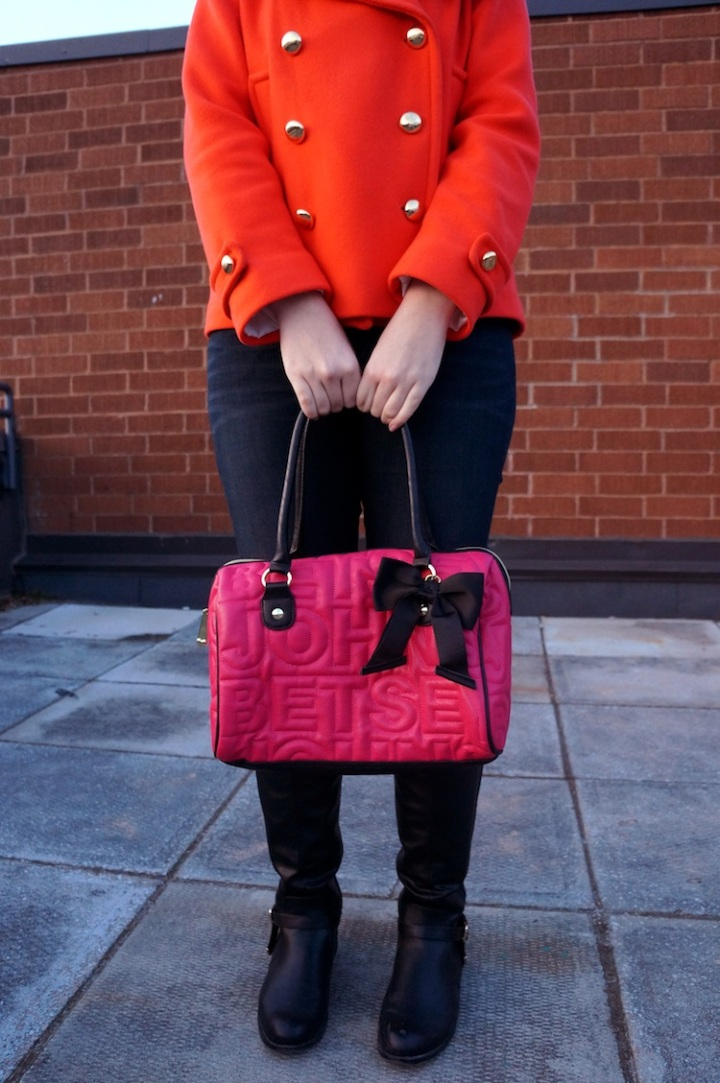 neon warm colours in fall 2