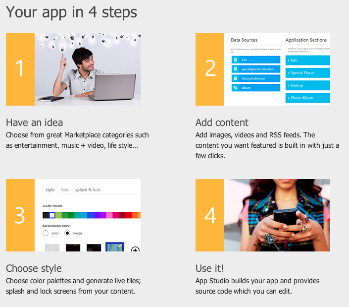 windows phone app builder
