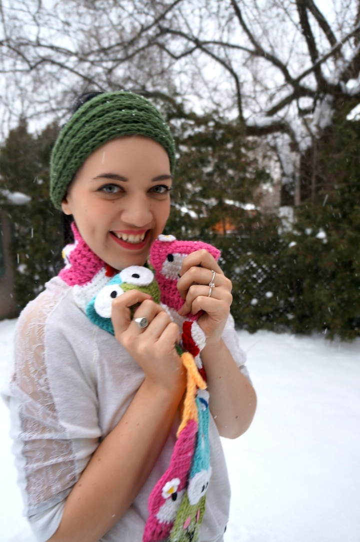 yummy you sanrio scarf giveaway 1