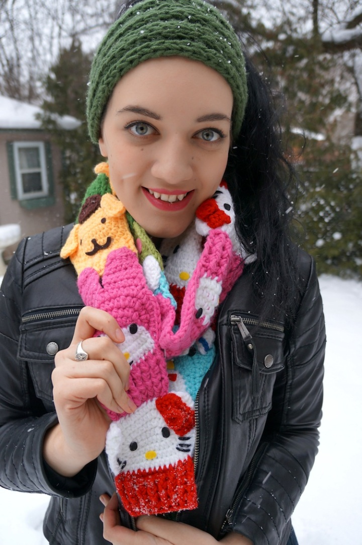 yummy you sanrio scarf giveaway 4