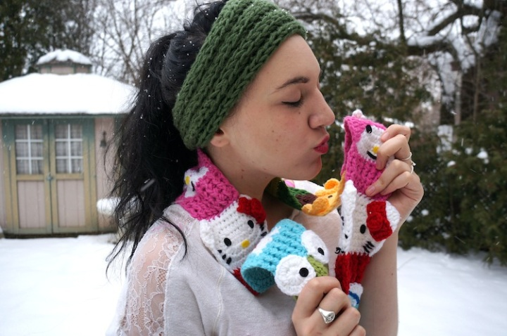 yummy you sanrio scarf giveaway 6
