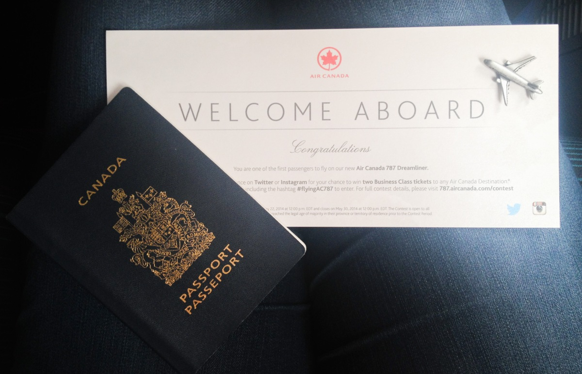 Air Canada's New Dreamliner: Flying Done Right!