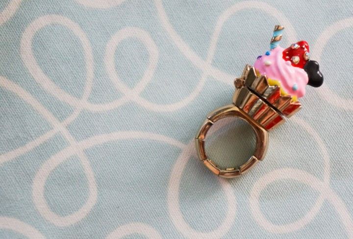 Betsey Johnson ice cream ring