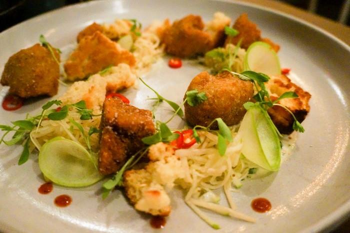 Thoroughbred Food and Drink buttermilk fried seitan
