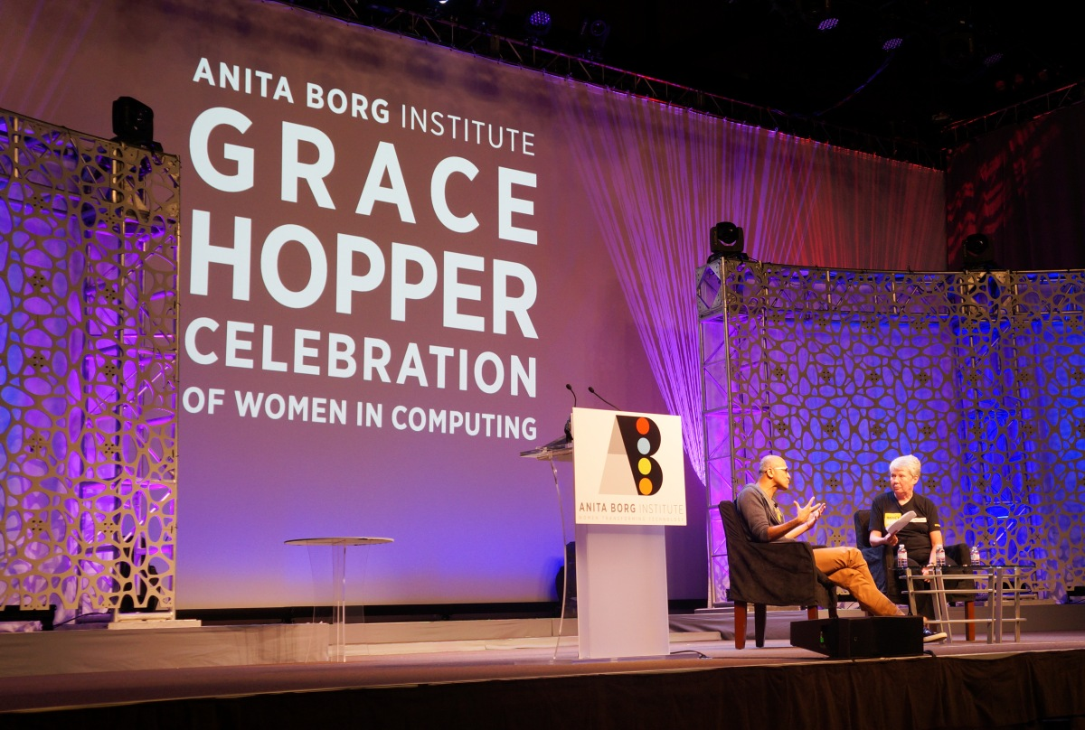 Grace Hopper Celebration of Women in Computing (GHC14) Day 1