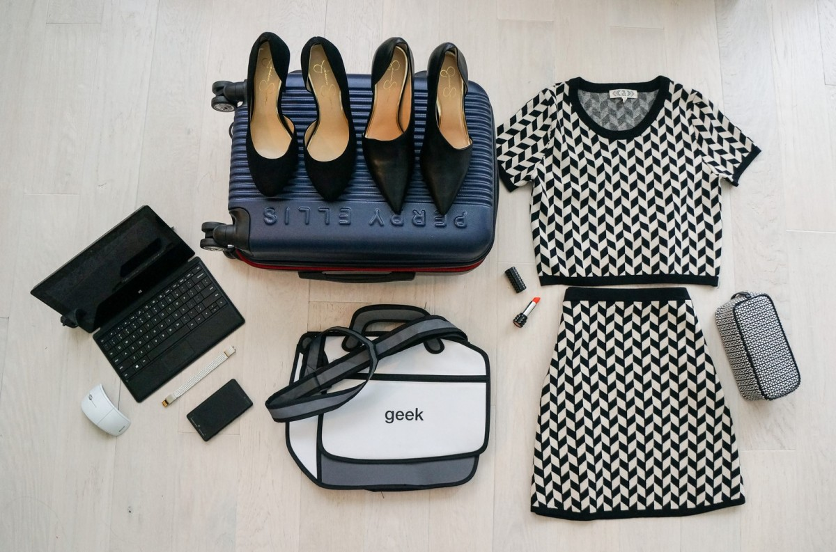 The Trendy Techie Guide to Packing for Conferences