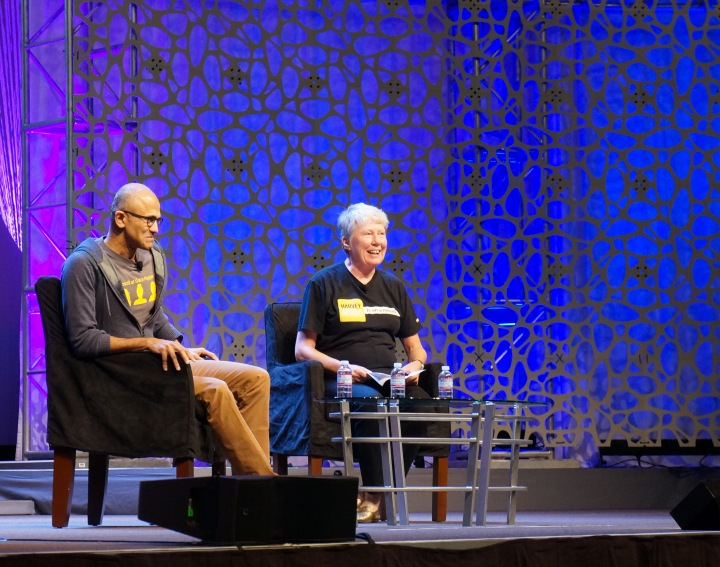 satya_nadella_grace_hopper_maria_klawe_interview_2014