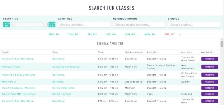classpass_toronto_review_fitness_2