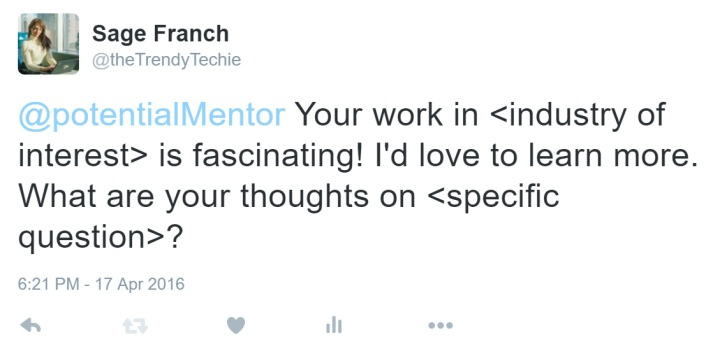 how_to_tweet_a_potential_mentor_online_networking_trendy_techie
