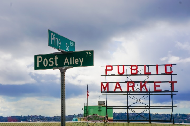 Late Spring in Seattle: A Rainy Day at Pike Place