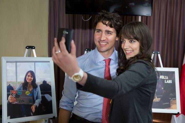 Trendy Techie Meets Prime MinisterTrudeau