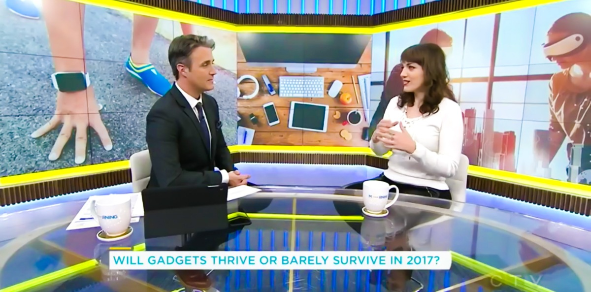 "Are Gadgets Dead? Trendy Techie Discusses ""the Winter of Gadgets"" on CTV Your Morning"