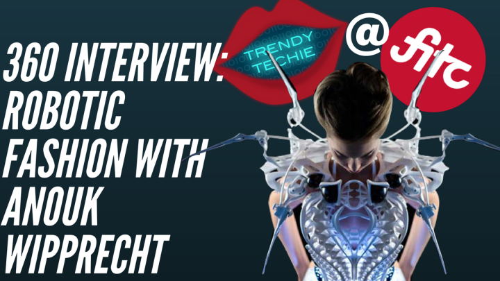 High Tech Meets High Fashion with Anouk Wipprecht's Wearable Robots – 360 Video Interview