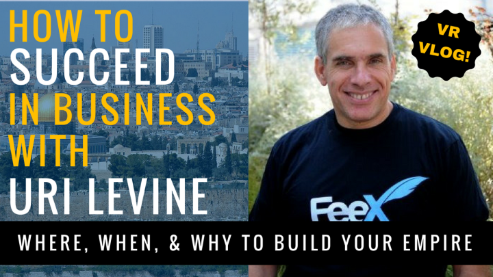 Strategies for Startup Success with Angel Investor Uri Levine – VR Interview