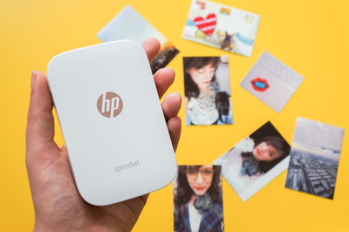 Gadget Review: Sprocket, HP's New Pocket-Sized Photo Printer, Stomps on Fujifilm's Instax Share