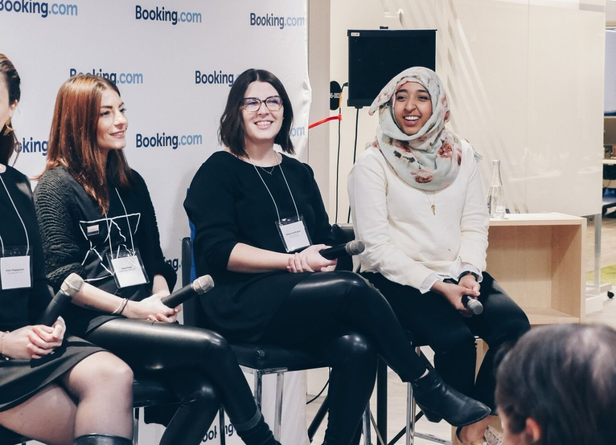 Booking.com Partners with Ladies Learning Code to Support Female Developers this International Women's Day