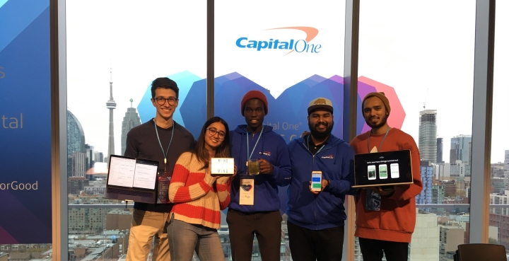 Toronto Hackers & Capital One 'Use Digital For Good' to Support Canadian Charities